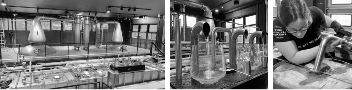 Whisky produktion i kyrö destilleriet