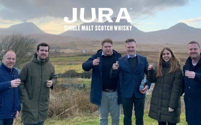 Interbrands besøger Jura