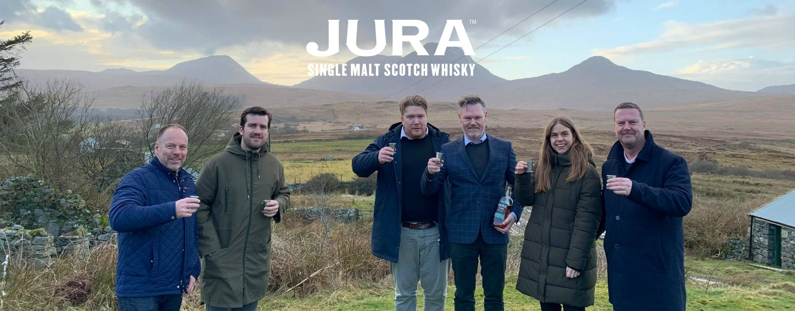 Interbrands Danmark besøger Jura Whisky