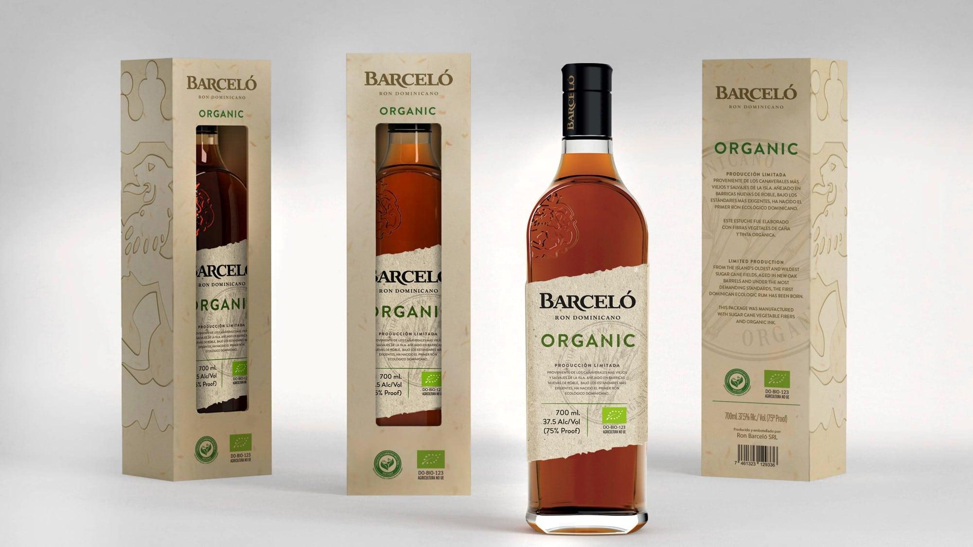 BArceló Organic indpakning