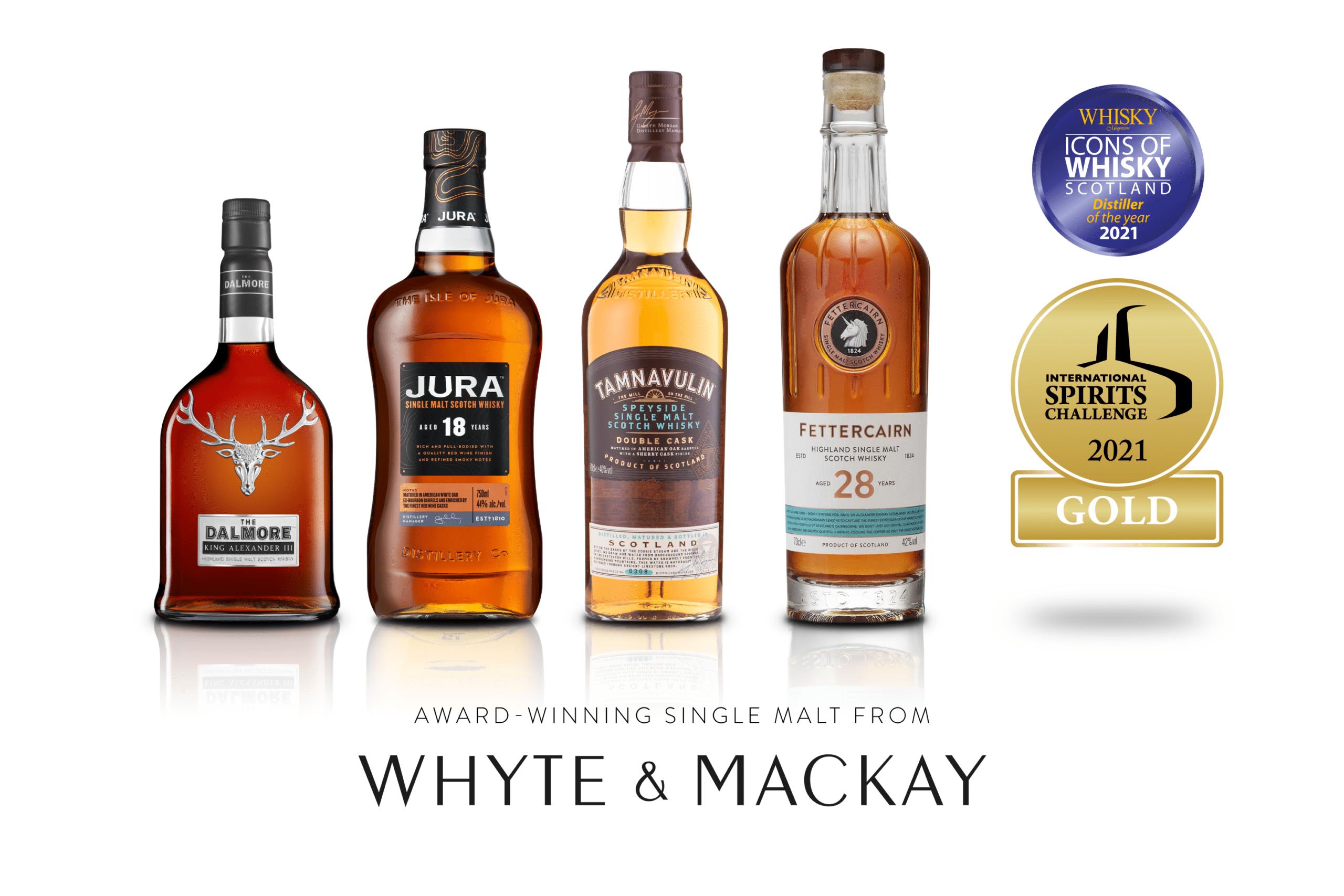 Whyte & Mackay 2021 awards